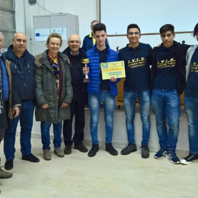 Primo Classificato TeamVision - ITI 'Fermi' Castrovillari